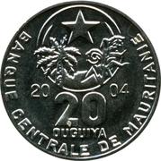20 ouguiya -  avers