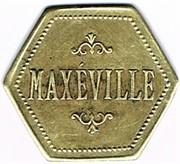 60 centimes Maxeville - (Maxéville (54) – avers