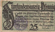 25 Pfennig (Mayen) – avers