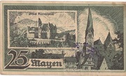 25 Pfennig (Mayen) – revers
