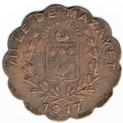 5 centimes - Ets Alquier Frères - Mazamet (81) – avers