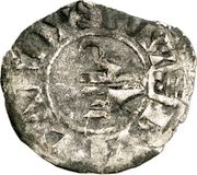 Obole - Bouchard (1120-1134) – avers
