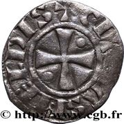 Denier - Bouchard (1120-1134) – revers