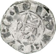Denier - Pierre Ier (1172-1174) – avers