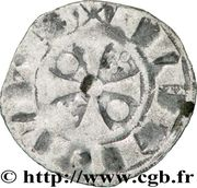 Denier - Pierre Ier (1172-1174) – revers