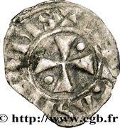 Obole - Bouchard (1120-1134) -  avers