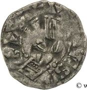Obole - Gauthier Ier (1045-1082) – avers