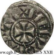 Obole - Gauthier Ier (1045-1082) – revers