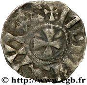 Denier - Gauthier Ier (1045-1082) – revers
