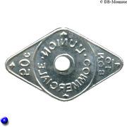50 Centimes - Bon pour L'union Commerciale - Meaux [77] – revers