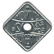 2 Francs (Bon pour) L'union Commerciale Meaux [77] – revers