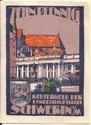 10 Pfennig (Schwerin) – avers