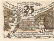 25 Pfennig (Brüel) – revers