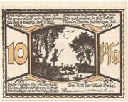 10 Pfennig (Brüel) – revers