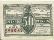 50 Pfennig (state issue) – avers