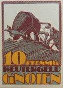 100 Pfennig (Gnoien) – avers