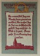 100 Pfennig (Gnoien) – revers