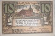 10 Pfennig (Hagenow) – avers