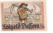 10 Pfennig (Dassow) – revers