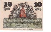 10 Pfennig (Dassow) – avers