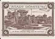 10 Pfennig (Dömitz; Sparkasse) – revers