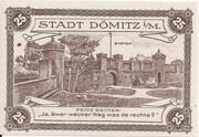 25 Pfennig (Dömitz; Sparkasse) – revers