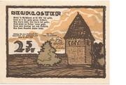 25 Pfennig (Neukloster) – avers