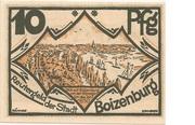 10 Pfennig (Boizenburg) – avers