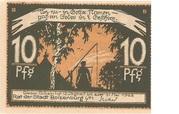 10 Pfennig (Boizenburg) – revers