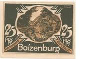 25 Pfennig (Boizenburg) – avers
