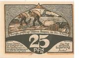 25 Pfennig (Boizenburg) – revers