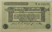 20,000,000,000 Mark (Mecklenburg-Schwerin) – avers