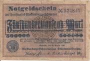 500,000 Mark (Mecklenburg-Schwerinsches Staatsministerium) – avers