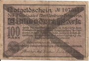 500,000 Mark (Mecklenburg-Schwerinsches Staatsministerium) – revers