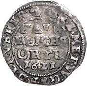 ½ Reichsort - Johann Albrecht II. – revers
