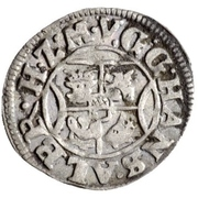 1 Schilling - Johann Albrecht II. – avers