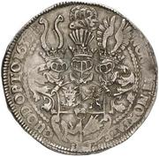 1 Thaler - Johann Albrecht II. – revers