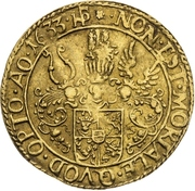 1 Ducat - Johann Albrecht II. – revers