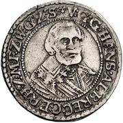 ½ Reichsort - Johann Albrecht II. – avers