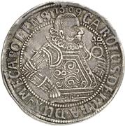 1 Thaler - Karl I. – avers