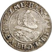 ¼ Thaler - Johann Albrecht II. – avers