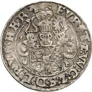 ¼ Thaler - Johann Albrecht II. – revers