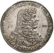 1 Thaler - Gustav Adolph – avers