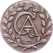 3 Pfennig - Gustav Adolph – avers