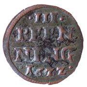 3 pfennig Johann Albrecht II – revers