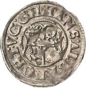 1 Doppelschilling - Johann Albrecht II. – avers