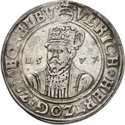 1 Thaler - Ulrich III. (Zwittertaler) – avers