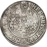 1 Thaler - Ulrich III. (Zwittertaler) – revers