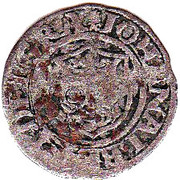 1 sechsling Johann Albrecht I. – avers
