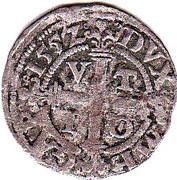 1 sechsling Johann Albrecht I. – revers